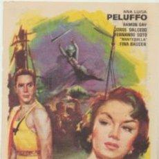 Cine: LA VENENOSA. PROGRAMA SENCILLO. CINE DUQUE - MÁLAGA 1965.. Lote 46007414