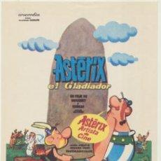 Cine: ASTERIX EL GLADIADOR. SENCILLO DE CONCORDIA.. Lote 46026964