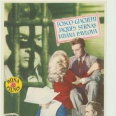 Cine: UNA CARTA AL AMANECER. SENCILLO DE ROSA FILMS. ¡IMPECABLE!. Lote 46070672