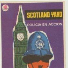 Cine: SCOTLAND YARD POLICÍA EN ACCIÓN. SENCILLO DE ROSA FILMS. ¡IMPECABLE!. Lote 46072684