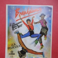 Cine: BREAKDANCE, SELLO CINE AVELLANEDA, LAS PALMAS GC. Lote 46073504