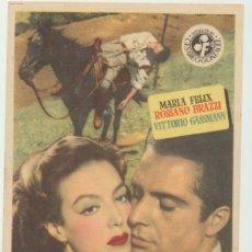 Flyers Publicitaires de films Anciens: LA CORONA NEGRA. SENCILLO DE SUEVIA FILMS. ¡IMPECABLE!. Lote 46150667