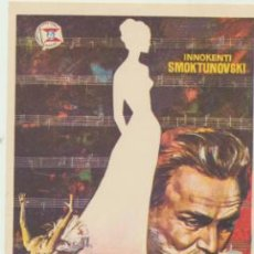 Cine: TCHAIKOVSKY. SENCILLO DE SUEVIA FILMS.. Lote 46157188