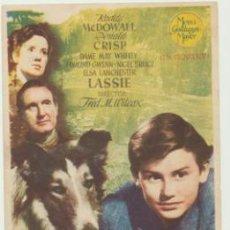Cine: LA CADENA INVISIBLE. SENCILLO DE MGM. CINE TÍVOLI - ANDUJAR 1949.. Lote 46168522