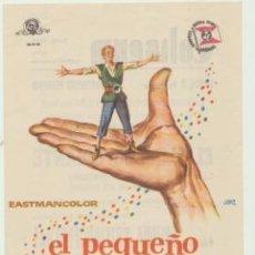 Cine: EL PEQUEÑO GIGANTE. SENCILLO DE SUEVIA FILMS. COLISEUM - TARRAGONA.. Lote 46174267