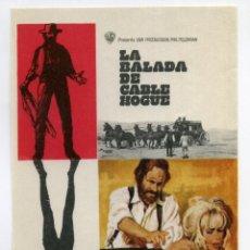 Cine: LA BALADA DE CABLE HOGUE, CON STELLA STEVENS.. Lote 296910553