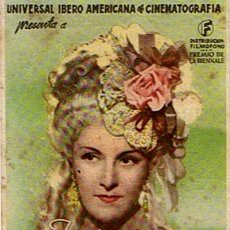 Cine: FOLLETO DE CINE ¨GOYESCAS¨ 1944 . Lote 46220919