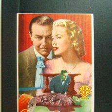 Cine: CRIMEN PERFECTO-ALFRED HITCHCOCK-RAY MILLAND-GRACE KELLY-CINES OLIMPIA Y MUNDIAL-CINEMA-1955. Lote 46266825
