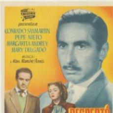 Cine: DESPERTÓ SU CORAZÓN. SENCILLO DE EMISORA FILMS. ¡IMPECABLE!. Lote 46310247