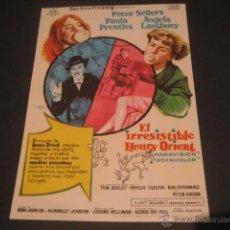 Cine: EL IRRESISTIBLE HENRY ORIENT. PETER SELLERS. Lote 46317209