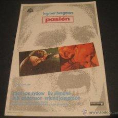 Cine: PASION. Lote 46317876
