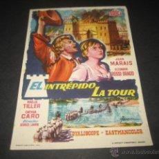 Cine: EL INTREPIDO LA TOUR. Lote 46320047