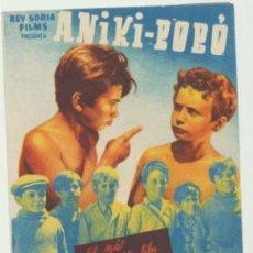 Cine: ANIKI BOBÓ. DOBLE DE REY SORIA FILMS. CINE VICTORIA.. Lote 46335340