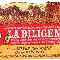 Cine: LA DILIGENCIA 1944. CINE DE BADAJOZ. Lote 54194971