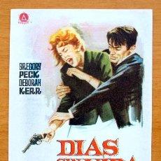 Cine: DIAS SIN VIDA - GREGORY PECK, DEBORAH KERR. Lote 46574813