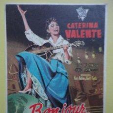 Cine: BONJOUR KATHRIN. CATERINA VALENTE. Lote 46593869
