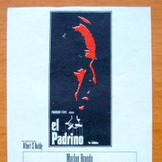 Cine: EL PADRINO - MARLON BRANDO, AL PACINO. Lote 46678474