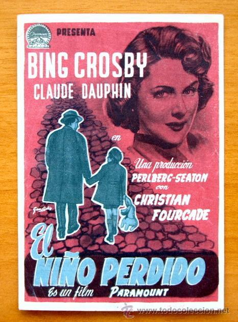 El niño perdido - Bing Crosby, Claude Dauphin - Con Publicidad