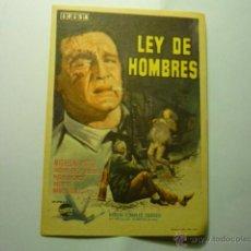 Cine: POSTAL LEY DE HOMBRES.-MICHELINE PRESLE. Lote 46699787