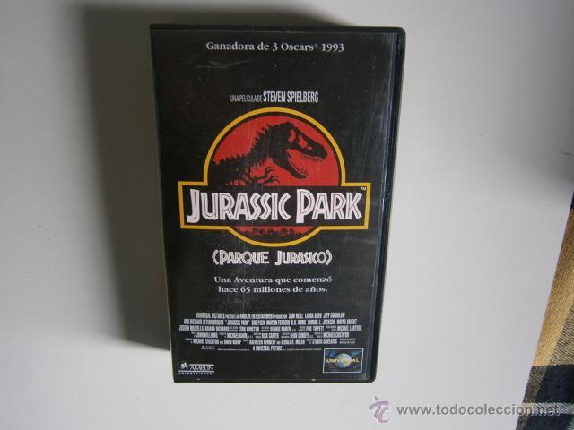 JURASSIC PARK LA PELICULA VHS (Cine - Folletos de Mano - Suspense)