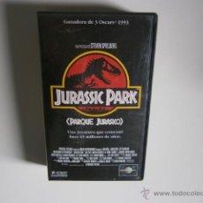 Cine: JURASSIC PARK LA PELICULA VHS. Lote 46725716