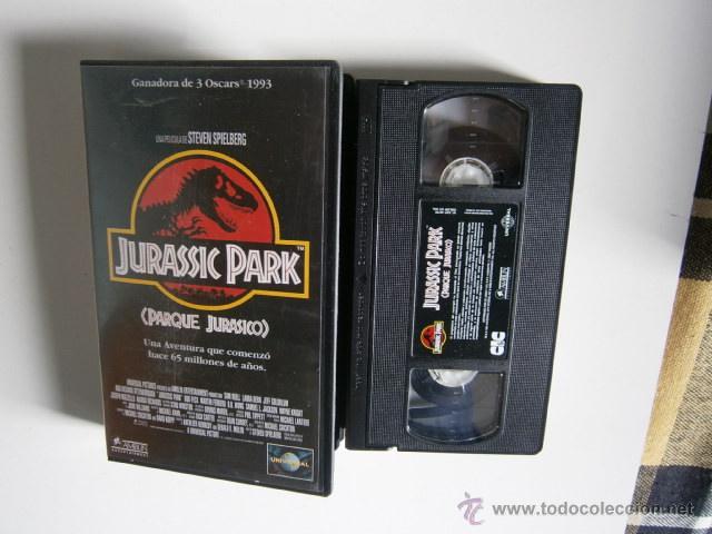 Cine: Jurassic Park la pelicula VHS - Foto 2 - 46725716