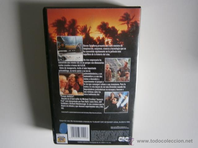 Cine: Jurassic Park la pelicula VHS - Foto 3 - 46725716
