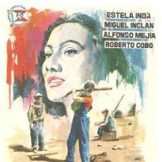 Cine: LOS OLVIDADOS PROGRAMA SENCILLO SUEVIA LUIS BUÑUEL CLASICO MUY RARO. Lote 46788076