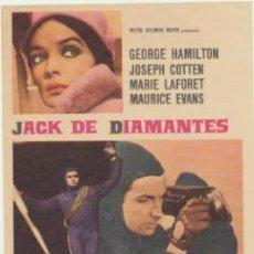 Cine: JACK DE DIAMANTES. SENCILLO DE MGM.. Lote 46836943