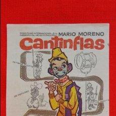 Cine: EL EXTRA, IMPECABLE SENCILLO 1965, CANTINFLAS, CON PUBLICIDAD MONTERROSA. Lote 46862584