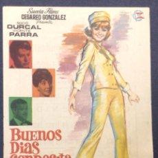 Cine: BUENOS DIAS CONDESITA. ROCIO DURCAL. VICENTE PARRA. CINEMA LA RAMBLA.. Lote 46886555