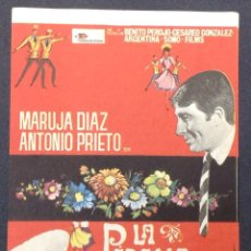 Cine: LA PÉRGOLA DE LAS FLORES. MARUJA DIAZ. ANTONIO PRIETO. SERRA MODERNO CASAL. MATARÓ.. Lote 46886627