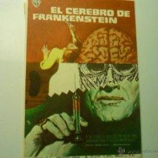 Cine: PROGRAMA EL CEREBRO DE FRANKENSTEIN -PETER CUSHING. Lote 46907658