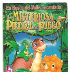 Cine: EN BUSCA DEL VALLE ENCANTADO PROGRAMA CALENDARIO TROQUELADO UNIVERSAL DON BLUTH. Lote 185737852