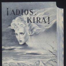 Cine: P-4822- ADIÓS, KIRA (ADDIO KIRA) (TROQUELADO, DOBLE) (ALIDA VALLI - FOSCO GIACHETTI). Lote 20967978