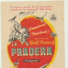 Cine: LA PRADERA. SENCILLO DE CIFESA. TEATRO CERVANTES.. Lote 46932982