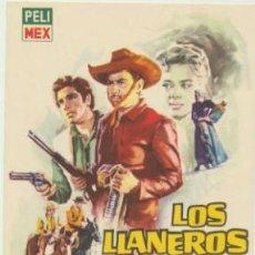 Cine: LOS LLANEROS. SENCILLO DE PELIMEX.. Lote 46933811