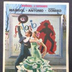 Cine: LA NUEVA CENICIENTA. MARISOL. ROBERT CONRAD. ANTONIO. SALA CAPITOL.. Lote 46971612