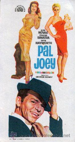 PAL JOEY (Cine - Folletos de Mano - Musicales)