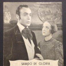 Cine: EL CIELO Y TU. BETTE DAVIS. CHARLES BOYER. MONTECARLO.. Lote 47017291