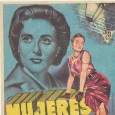 Cine: MUJERES EN LA CALLE. SENCILLO DE CIRE FILMS.. Lote 47035418