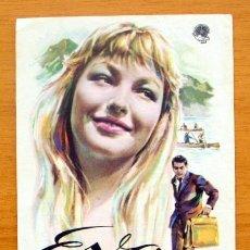 Cine: EVA - MARINA VLADY, ROBERT HOSSEIN - CON PUBLICIDAD. Lote 47052498