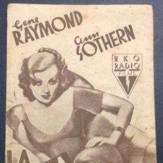 Cine: LA BELLA REBELDE. GENE RAYMOND. ANN SOTHERN. . Lote 47102235