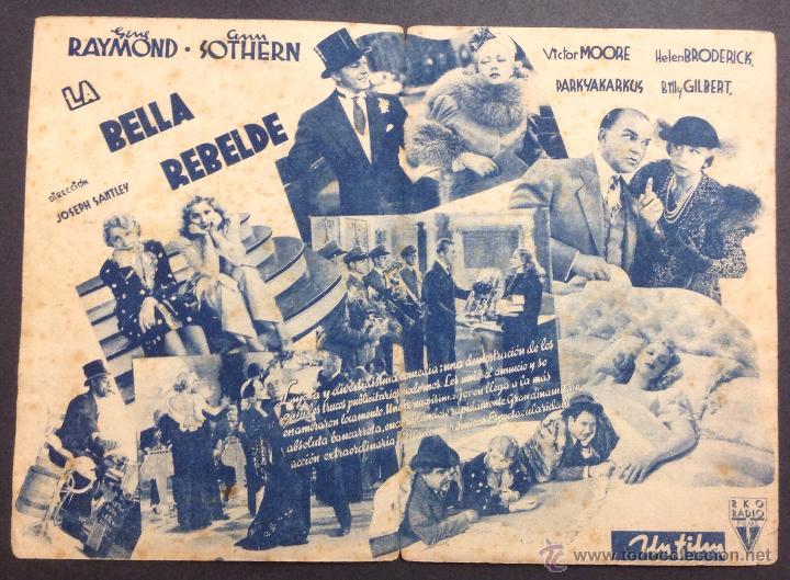 Cine: LA BELLA REBELDE. GENE RAYMOND. ANN SOTHERN. - Foto 2 - 47102235