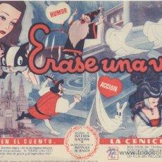 Cine: ERASE UNA VEZ. DOBLE DE UNIVERSAL. ¡IMPECABLE!. Lote 47104119