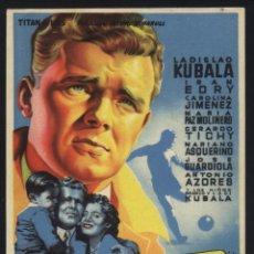 Foglietti di film di film antichi di cinema: P-4921- KUBALA. LOS ASES BUSCAN LA PAZ (SIN DISTRIBUIDORA) (SOLIGÓ) (LADISLAO KUBALA - IRÁN EORY). Lote 47125684