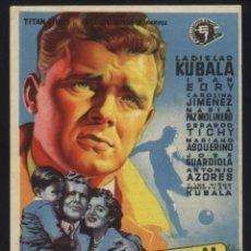 Foglietti di film di film antichi di cinema: P-4922- KUBALA. LOS ASES BUSCAN LA PAZ (EXCLUSIVAS SIMO) (SOLIGÓ) (CINE AMISTAD - PREMIA DE MAR). Lote 47125705