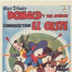 Cine: DONAL Y SUS AMIGOS CONQUISTAN EL OESTE. SENCILLO DE CHAMARTÍN.. Lote 47185787