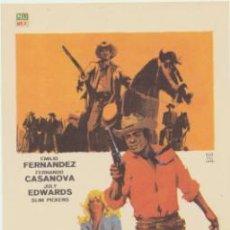 Cine: UN TIPO DIFICIL DE MATAR. SENCILLO DE PELIMEX.. Lote 47247790