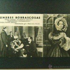 Cine: CUMBRES BORRASCOSAS-WILLIAM WYLER-MERLE OBERON-LAURENCE-OLIVIER-DAVID NIVEN-Nº 180-ACARTONADO-(1939). Lote 47306767